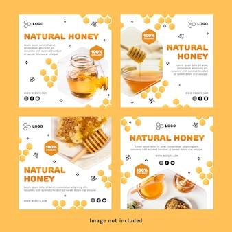 Honey post instagram definido
