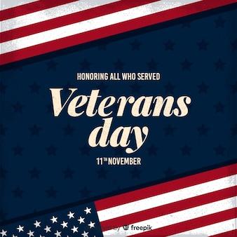 Honra a todos que serviram o dia dos veteranos