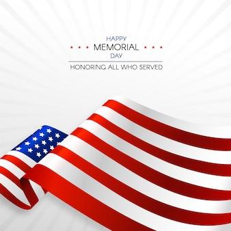 Honrando todos os que serviram o dia memorial
