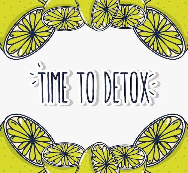 Hora de desintoxicar limões cítricos