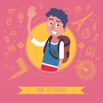 Hora de viajar cartão