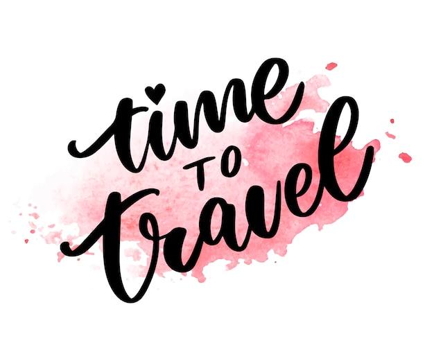 Hora de viajar
