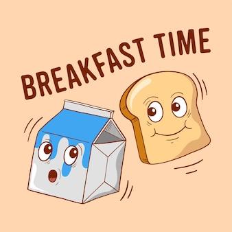Hora do café da manhã