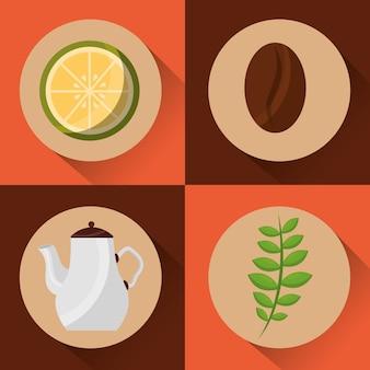 Hora do café e do chá