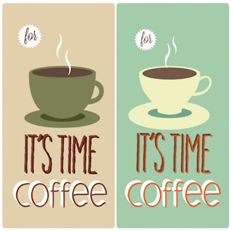 Hora do café