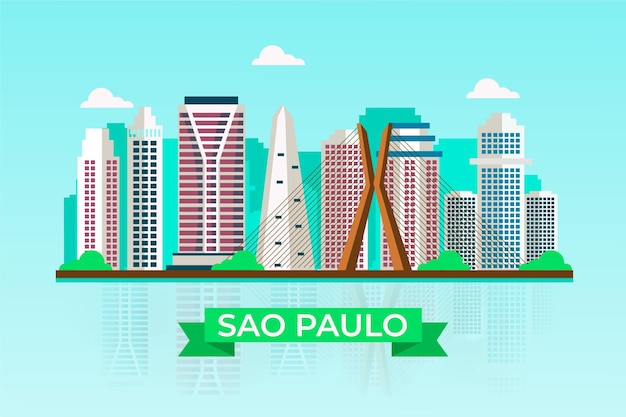 Horizonte de são paulo brasil