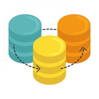 Hospedagem na web ou data center relacionado