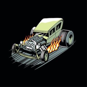 Hot-rod carro