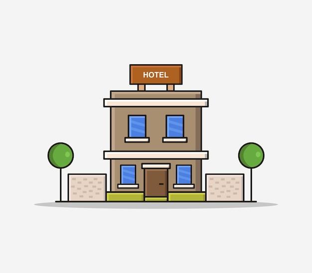 Hotel desenho animado