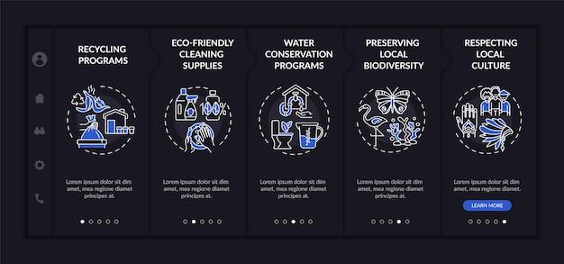 Hotel ecológico apresenta modelo de integração Vetor Premium