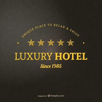 Hotel logotipo modelo