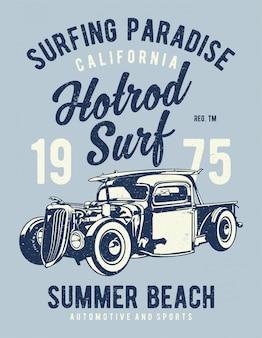 Hotrod surf