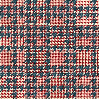 Houndstooth padrão checkered