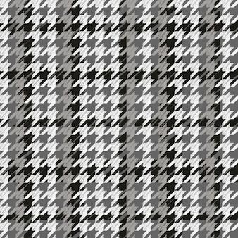 Houndstooth padrão cinzento