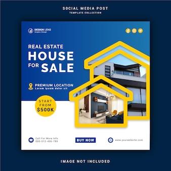 House for rent social media post