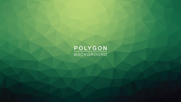 Hulk polígono verde