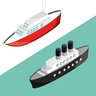 Iates e barcos de cruzeiro