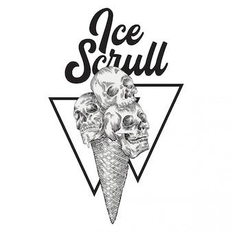 Ice scrull