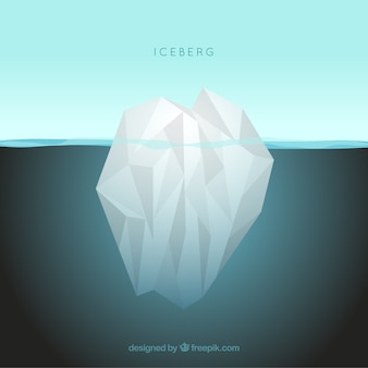 Iceberg no oceano