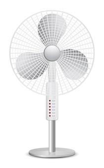 Ícone 3d do ventilador de piso