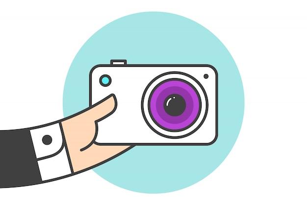 Ícone da câmara fotográfica