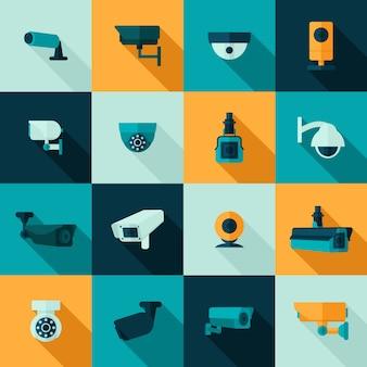 Ícone da câmera de segurança