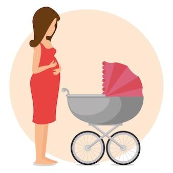 Ícone da gravidez recém nascido