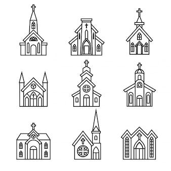 Ícone da igreja.