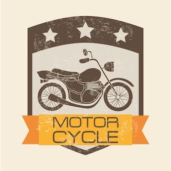 Ícone da motocicleta