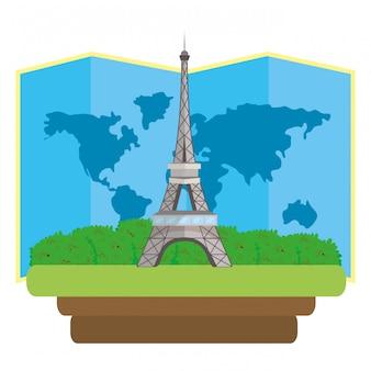 Ícone da torre eiffel