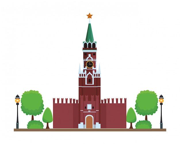 Ícone da torre spasskaya