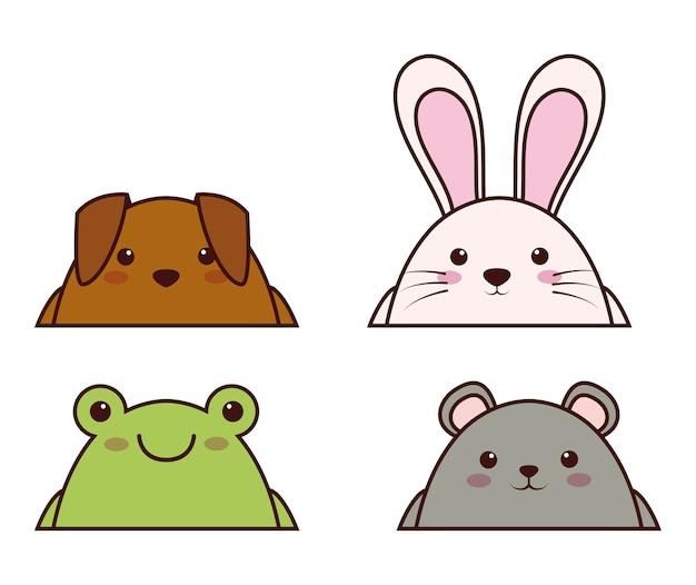 Ícone de animais kawaii