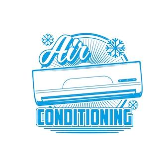 Ícone de ar condicionado, condicionadores e sistemas de divisão
