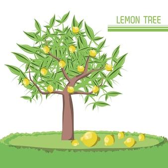 Ícone de árvore de limão