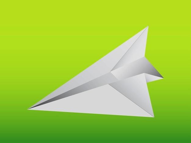 Ícone de avião de papel