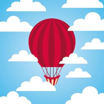 Ícone de balão de ar