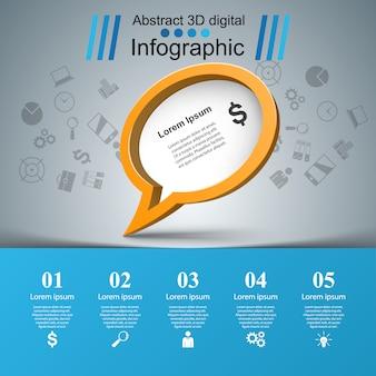 Ícone de bolhas do discurso. informações da caixa de diálogo.