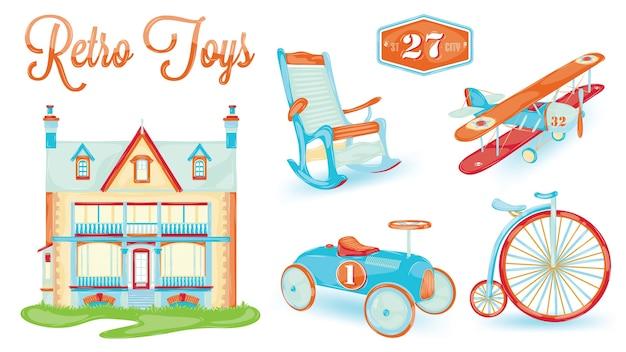 Ícone de brinquedo retro
