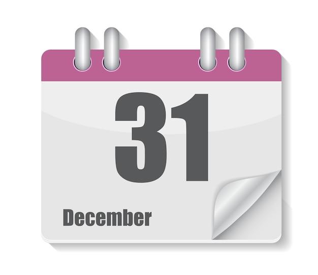 Ícone de calendário plano para ilustração de aplicativos.