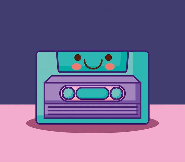 Ícone de cassete retrô