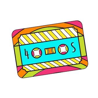 Ícone de cassete.