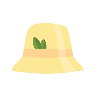 Ícone de chapéu de sauna de casa de banho. item para prazer e relaxamento. ilustração em vetor de acessório de banho de vapor