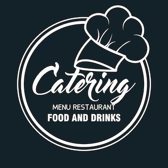 Ícone de comida deliciosa de catering