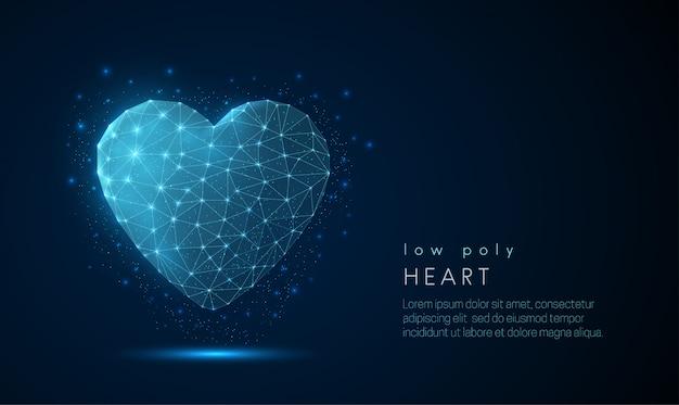 Ícone de coração abstrato