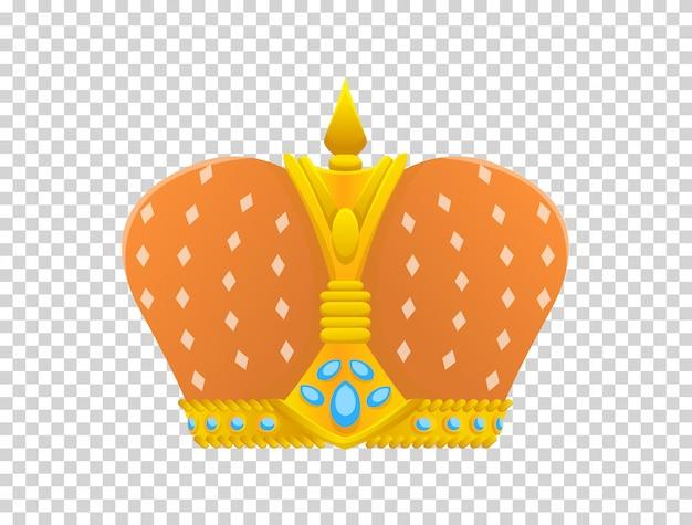 Ícone de coroa de ouro. prêmios da coroa para vencedores, campeões, liderança.