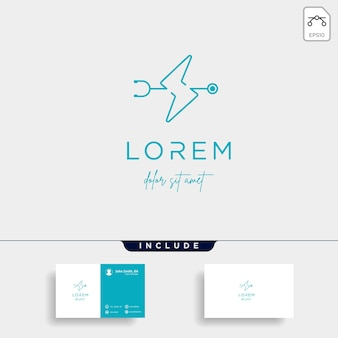 Ícone de design de vetor de logotipo médico em flash isolado