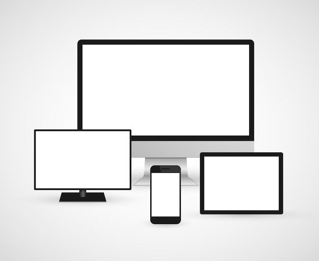 Ícone de dispositivos de tecnologia.