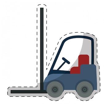 Ícone de empilhadeira