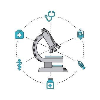 Ícone de equipamento de cuidados de saúde