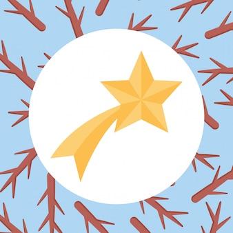 Ícone de estrela cadente